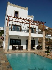 Photo for Luxurious house 3 bedrooms, 2 bathrooms, private pool and sea view 180 °