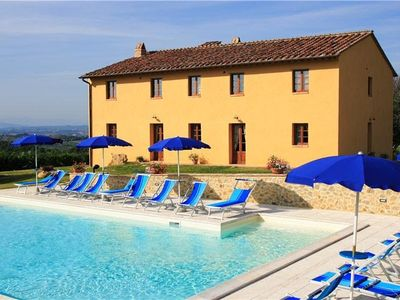 Photo for 8BR Villa Vacation Rental in San Gimignano, Si