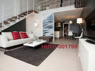 Photo for Apartment 544 m from the center of Barcelona with Lift, Internet, Air conditioning, Garden (18159)