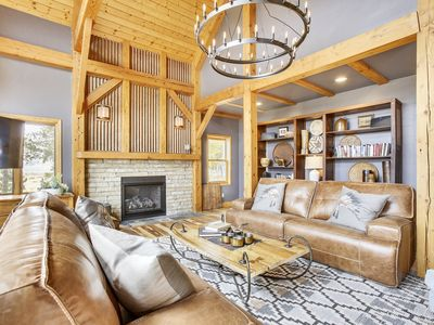 Photo for Hygge Mtn Lodge by WPLCo | Pure Luxury | Pure Contentment | Sleeps 24!