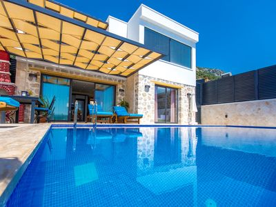 Photo for Brand New Luxury 2 Bedroom Villa with Secluded Infinity Pool & Superb Sea Views
