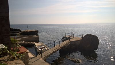 View of the sea from the house
