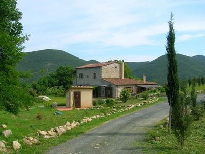 Photo for Farmhouse apartment. Tuscany. Etruscan Coast, close to beach, sea view