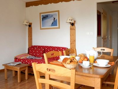 Photo for Residence La Crête du Berger *** - 2-Room Mountain Corner Apartment - 6 People