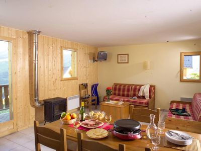 Photo for Surface area : about 65 m². Living room with sofa-bed, bed-settee or 2 pull-out beds, stove