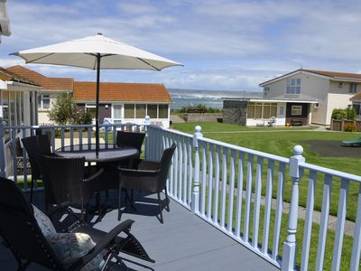 Photo for Beach Cottage no11 at Golden Bay Holiday Village - Stone's Throw from the Sea