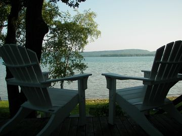 Cozy Waterfront Cottage and Guest House on Big Platte Lake Near Dunes!