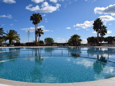 Photo for T1+1 Apartment in Seaside Resort in Ria Formosa Natural Reserve