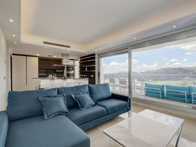 Photo for Luxury apartments with sea, mountain and golf course views
