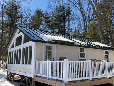 Photo for Lakefront Cottage, newly renovated, 35' from waters edge!