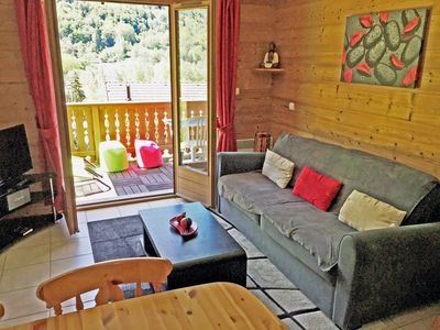 Photo for Appart Bozel 40m2, 2-4 pers. ultra comfort, quiet, 300m from the lake