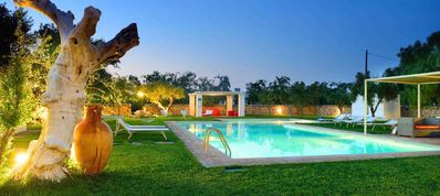 Photo for Authentic, charming property with ancient trulli, villas and pool