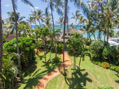 Photo for Beach-front Estate - North Shore, private setting, close to Haleiwa & surf spots