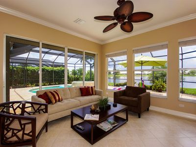 Photo for Lake View 3BR Villa with Pool, Spa and Club Membership