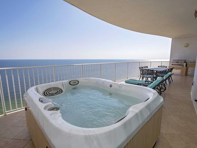 Photo for Rates Dropped ~ Gulf Front ~ Turquoise Place 2206C ~ Balcony Hot Tub/Grill ~ Great Amenenities