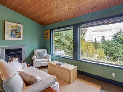 Photo for Cozy home & studio w/ patio & Mt. Baker view - short drive to dining/hiking!