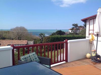 Photo for House with sea view in Guethary