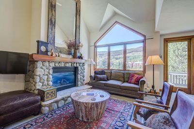Main Living Room view of Tenderfoot Mountain
