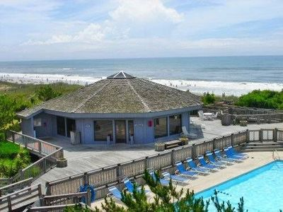 Photo for Emerald Isle Oceanfront Condo at Pebble Beach.  3BR, 2BA.
