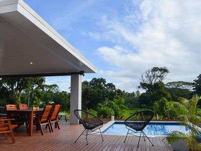 Photo for Perfect 2 bedroom villa with pool