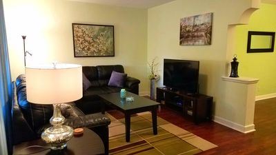 Photo for 2 Bedroom 1 Bath Near Forest Park! Free Cable And WiFi!