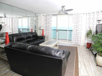 Photo for Ashworth Unit 1207! Stunning Ocean Front Condo! Book your get away today!