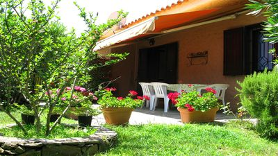 Photo for Agrustos villa 400 meters from the sea