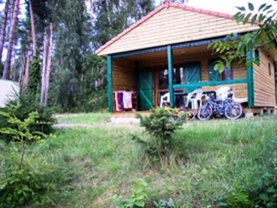 Photo for Camping Chalets du Lac d'Aydat *** - Stone and Wood Chalet 5 Persons 3 Rooms