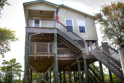 The best fishing camp in Hopedale, La. A fisherman's paradise.