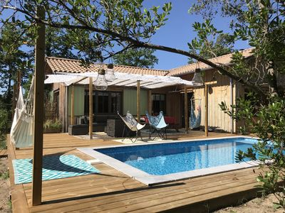 Photo for HOUSE WITH POOL ON THE BASIN OF ARCACHON