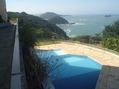 Photo for Triplex penthouse, with pool, hill of Sorocotuba, total Vista for Ocean