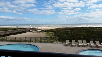 Photo for Ocean Front Condo with Gorgeous Ocean Views from Master and Living