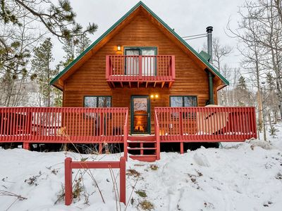 Photo for Sparrow&Pine-Cozy Terry Peak Cabin Near Outdoor Activities & Attractions