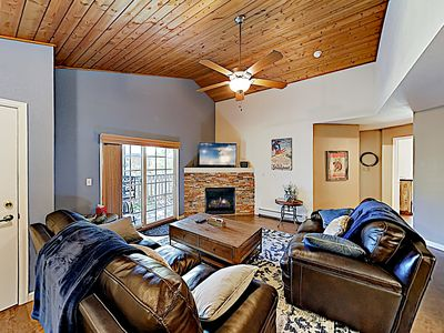 Photo for 1476MORG: 2  BR, 2  BA Condominium in Steamboat Springs, Sleeps 6