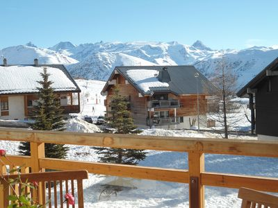 Photo for 3BR Apartment Vacation Rental in Alpe d'huez