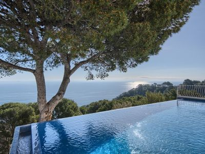Photo for Large, Luxury Villa, Sea Views, Heated Pool in Begur, Costa Brava