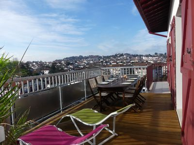 Photo for Luxury apartment of 150m2 with terrace of 20m2 in Ciboure / Saint-Jean-de-Lu