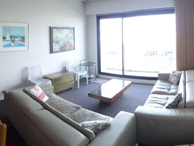 Photo for Large apartment facing the sea