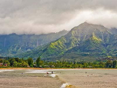 Photo for Waterfalls, Palm Trees, and Hanalei Bay,  Short walk to beaches and resorts