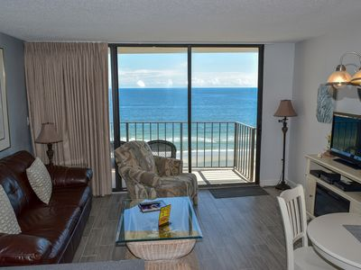 Photo for SHORT STAYS AVAILABLE! 1 bedroom 1 bath Oceanfront Great pool area with Wi-Fi! Great Location!