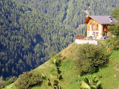 Photo for Panoramic and peaceful situated house against a hill