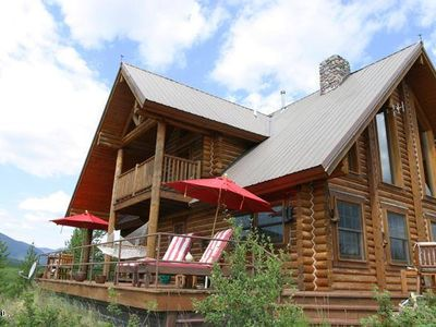 Photo for Log Cabin & Optional Bunkhouse with Spectacular Wilderness Views