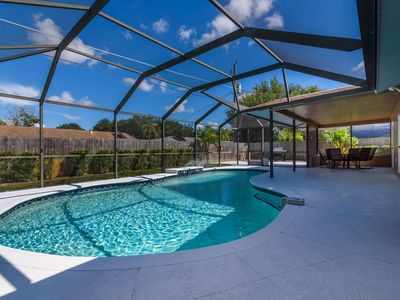 NEW! Beautiful 3 Bedroom Vacation Rental Home with Heated Swimming Pool.