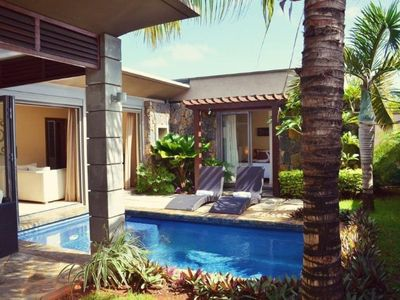 Photo for Private 1- bedroom Villa Athenias  with a pool in Grand Baie, 5 mn from beach