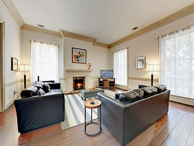 Photo for 5BR Townhouse in Historic District w/ Courtyard & Private Balcony