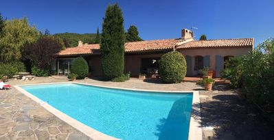Photo for Magnificent 300sqm villa in a unique location - pool heating, central heating, fireplaces