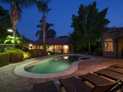 Photo for Rancho Mirage Outdoor Oasis - Your Own Private Resort!