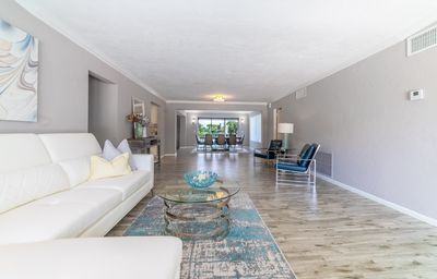 Photo for Waterfront, 3 bd, 2 baths, pool, sleeps 10