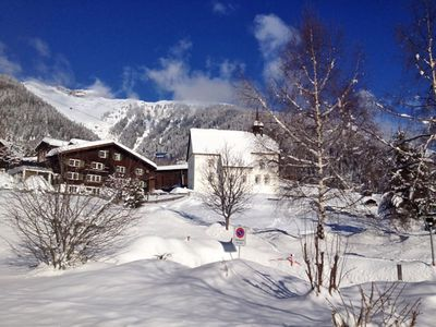 Photo for Apartment 279 m from the center of Disentis with Lift, Parking, Internet, Washing machine (52765)