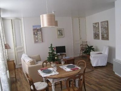 Photo for In the heart of Honfleur,  a bright apartment with refined decoration.